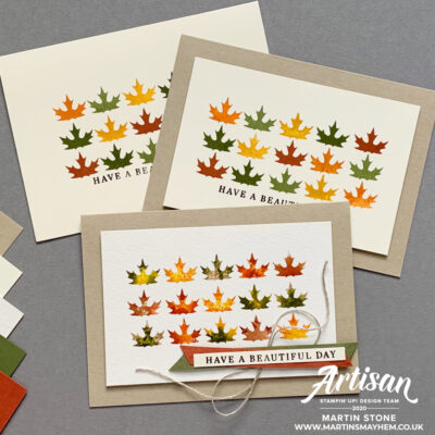 Stamping Sunday – Stampin' Up! Gilded Autumn Suite
