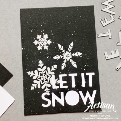 30 Day Christmas Card Making Challenge – Day 29