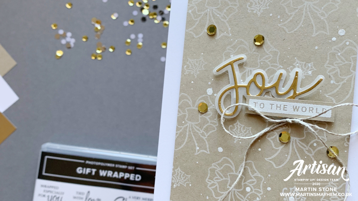 Gift Wrapped Stamp Set