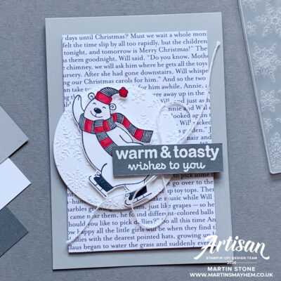 30 Day Christmas Card Making Challenge – Day 28