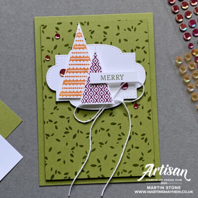 30 Day Christmas Card Making Challenge – Day 24