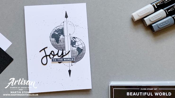 Beautiful World Stamp Set