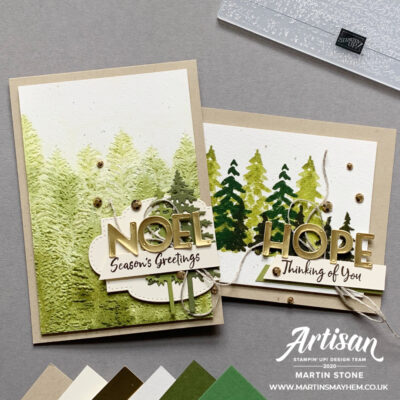 Stampin' Up! Artisan Design Team Blog Hop – In The Pines Bundle