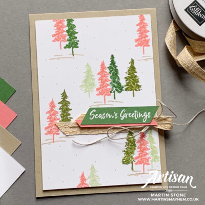 Stampin' Up! In The Pines Stamp Set
