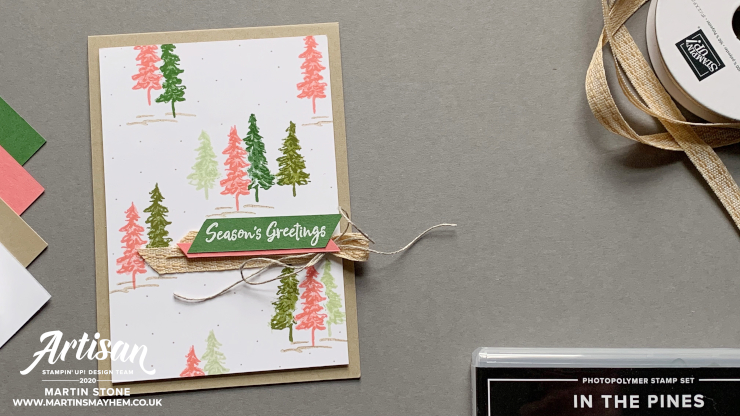 In The Pines Stamp Set