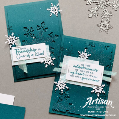 Stampin' Up! Artisan Design Team Blog Hop – Snowflake Splendor Suite