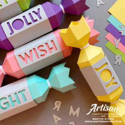 Stampin' Up! Playful Alphabet Dies Crackers