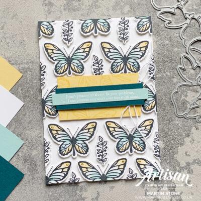 Stamping Sunday: Stampin' Up! Floating & Fluttering Stamp Set
