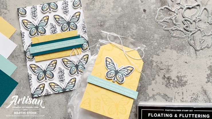 Floating & Fluttering Stamp Set