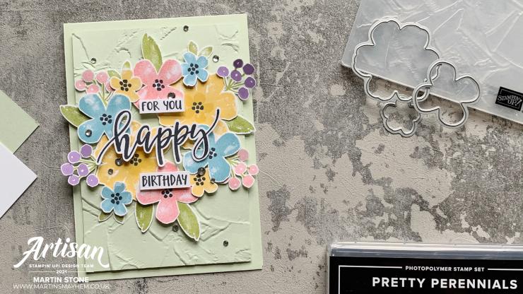 Pretty Perennials Stamp Set