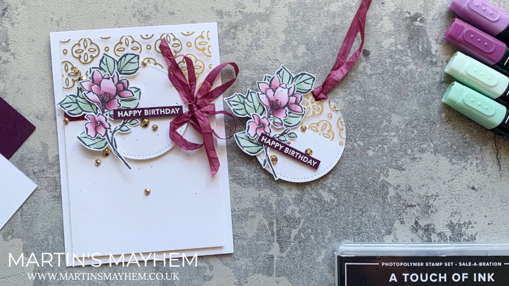 A Touch of Ink Stamp Set