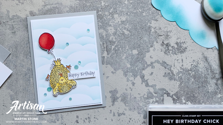 Hey Birthday Chick Stamp Set