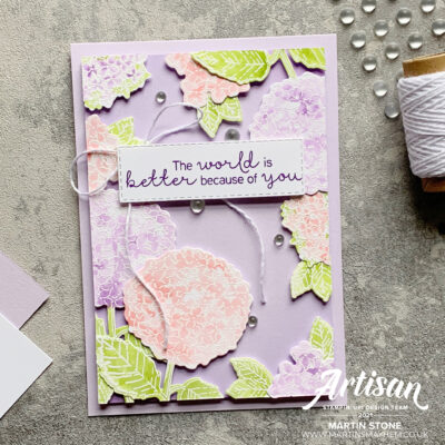 The Crafty Carrot Collective: Hydrangea Haven