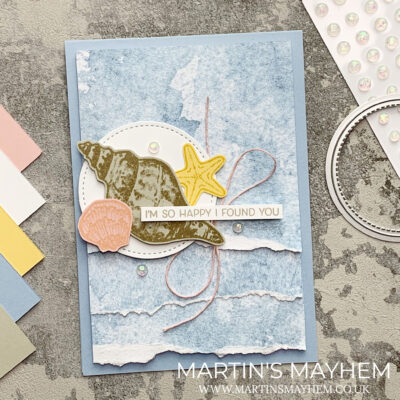 Stamping Society – Stampin' Up! Friends Are Like Seashells Stamp Set