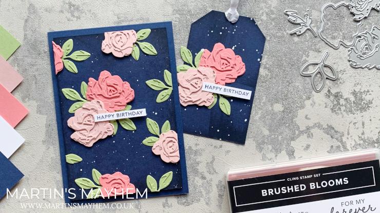Brushed Blooms Bundle
