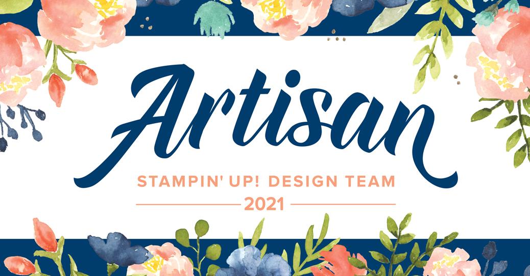 Stampin' Up! artisan design team member badge