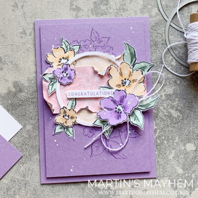 Stamping Sunday – Stampin' Up! Hand-Penned Petals Bundle