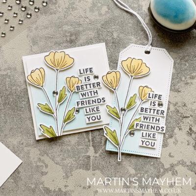 OSAT – Stampin' Up! Flowers of Friendship Stamp Set