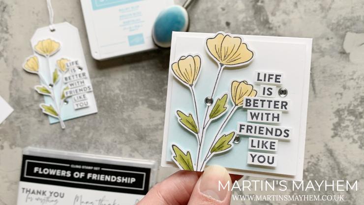 Flowers of Friendship Stamp Set