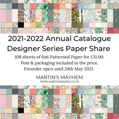 Annual Catalogue Designer Series Paper Share