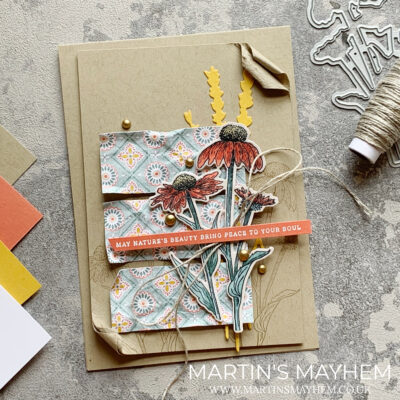 Stampin' Fancy Friday – Stampin' Up! Nature's Harvest Stamp Set
